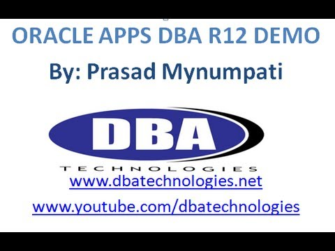 DBA Technologies - Online Apps DBA Training