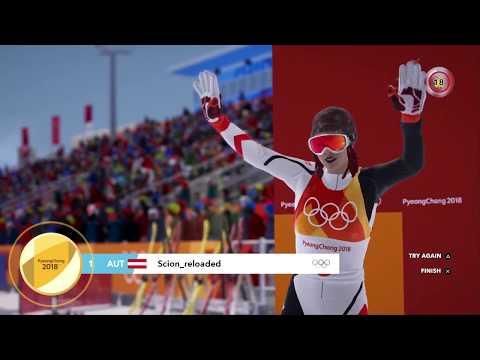 Road to the Olympics - Steep Winter Games Edition PS4 Gameplay