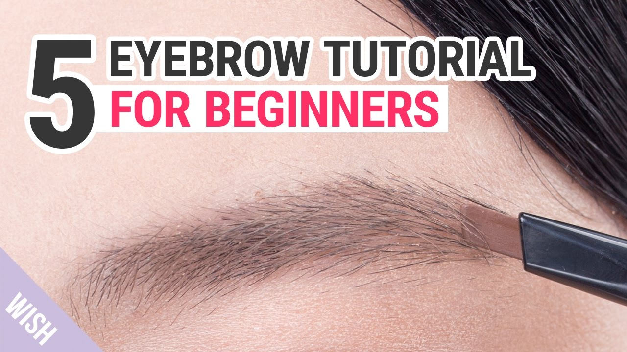 Eyebrow Shaping Tutorial For Beginners Wishtrend Tv Youtube