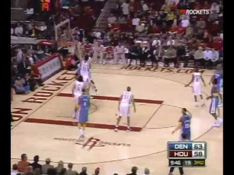 Houston Rockets Highlights vs. Nuggets 12/16/2008