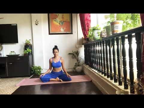 24.How to Wild Thing | Camatkarasana Backbend yoga pose Tutorial | Vidya Malavade