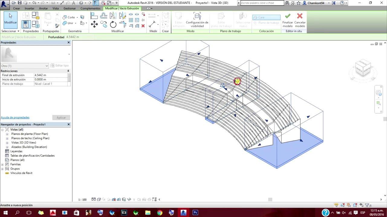 C mo hacer graderias escaleras en revit 2016 componente for Como hacer gradas