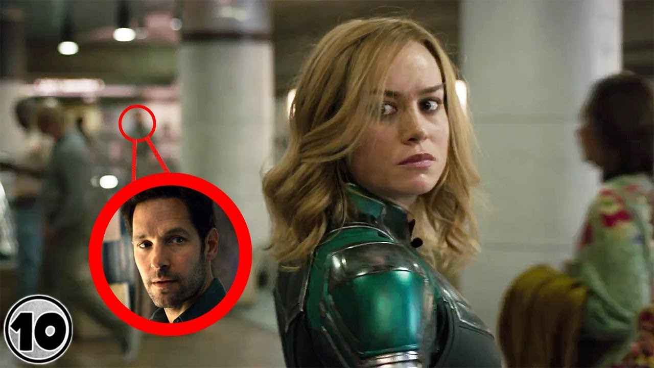 top 10 easter eggs you missed in the captain marvel trailer - youtube