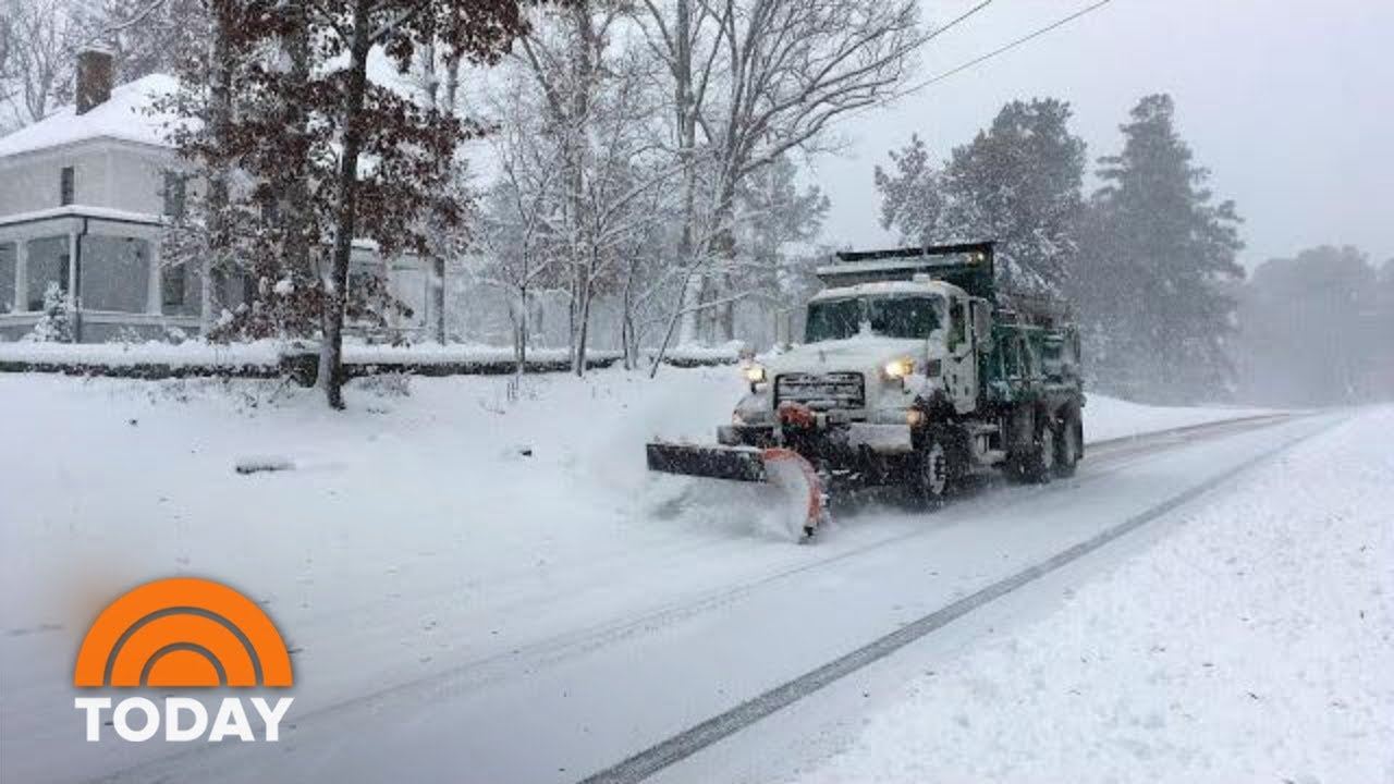 Deadly Winter Storms Put Virginia, North Carolina In State Of Emergency   TODAY