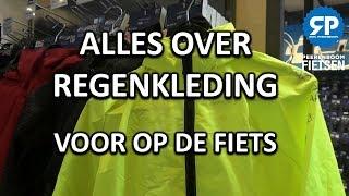 Alles over REGENKLEDING voor op de fiets (regenjas, regenbroek, handschoenen e.d.)