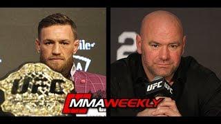 Dana White: Conor McGregor Won
