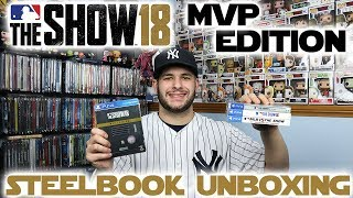 mlb the show 18 mvp edition steelbook unboxing