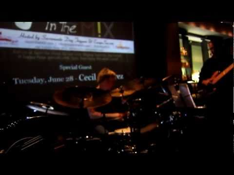 Cecil Ramirez with Brian Culbertson on drums@Jazz in the Mix - MIXDowntown - Sacramento - 6-28-2011