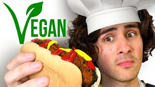 I wasted an hour cooking HORRIFYING VEGAN HOT DOGS
