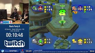 #ESAWinter19 Speedruns - Mario Party 6 [All Boards - Weak Difficulty] by Fuzzyness