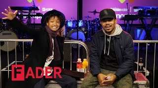 Chance The Rapper & Willow Smith - Artist on Artist Teaser (interview at vitaminwater #uncapped)