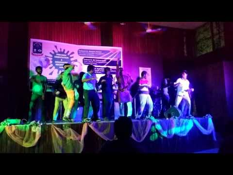 Champion dance by the students of GEB, DU