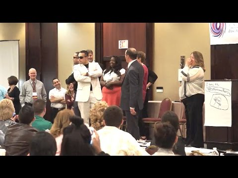 Impersonation Contest at The Hurricane Home Care Boot Camp