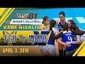 UAAP 81 WV: FEU vs. ADMU | Game Highlights | April 3, 2019