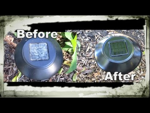 Quick & Easy Way to Clean, Renew & Restore Solar Pathway Lights! Wow!! Looks Brand New!!!