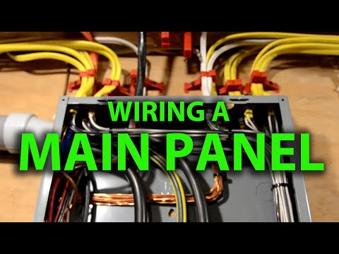 how-to-wire-a-house-main-electrical-panel-load-center-&-layout-tips-full-step-by-step-process-200amp