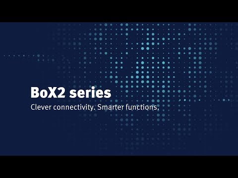 BoX2 series. Clever connectivity. Smarter functions.