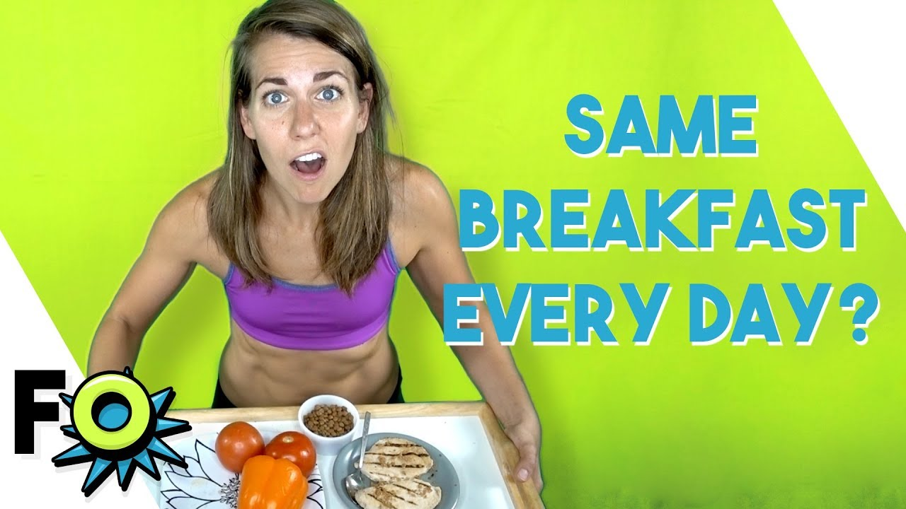 Why I Eat the Same Breakfast Every Day? | Fitness Outrageous | Ep 1