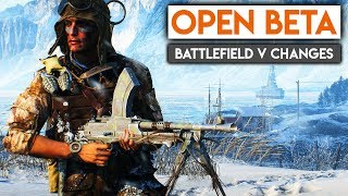 BATTLEFIELD 5 OPEN BETA RELEASE! ► Battlefield V News & Changes