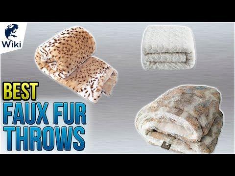 10 Best Faux Fur Throws 2018
