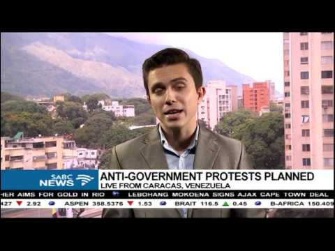Juan Carlos Lamas on anti-government protests in Venezuela
