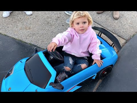 Jake Paul Got Mini Jake Paul A LAMBO!!