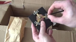 Розпакування мікро токарний верстат Taig Lathe HD