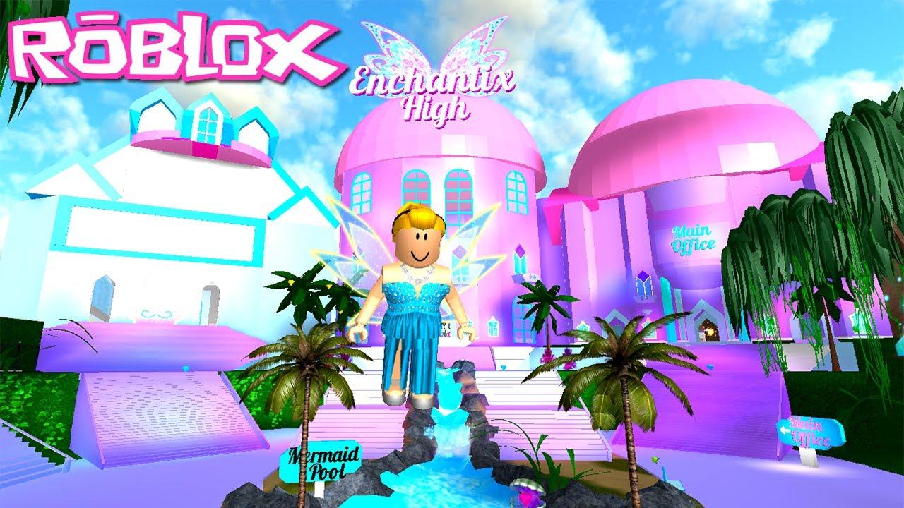 Roblox Soy Un Hada De Hielo Winx High School Roblox Fairies Mermaids Winx High School Beta Ice Fairy Youtube