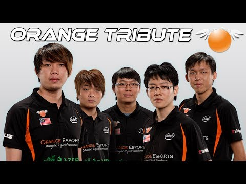 Dota 2 - A Tribute To Team Orange