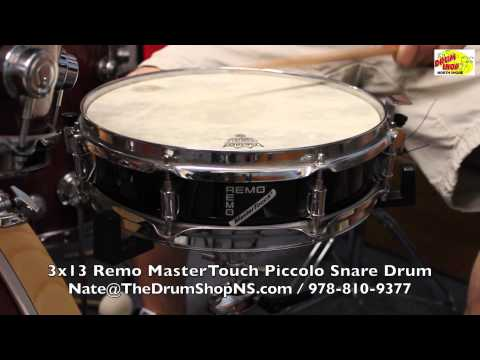 Remo MasterTouch Piccolo Snare 3x13 - The Drum Shop North Shore