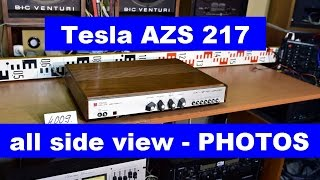 Tesla AZS 217 stereo amplifier (No.4009) - All side view - PHOTOS
