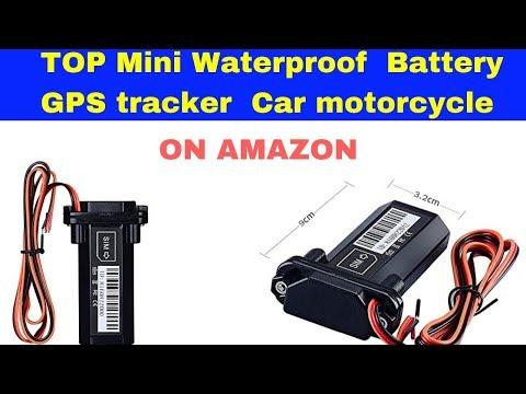 TOP Mini Waterproof Builtin Battery GSM GPS tracker  Car motorcycle