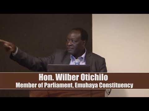 Hon. Wilbur Ottichilo – Member of Parliament, Emuhaya Constituency