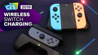 CES 2019: Charge your Nintendo Switch Joy-Cons wirelessly