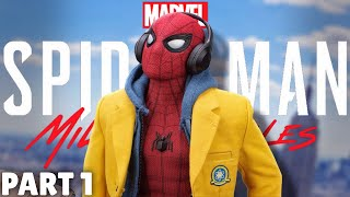 FREE Spider-Man Miles Morales thumbnail design!