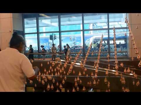 Karya seni Penawar Kejemuan di Changi International Airport