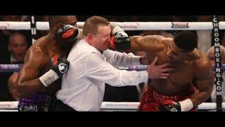 Boxeo: árbitros golpeados accidentalmente