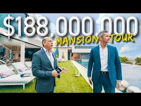Touring A Massive $188 Million California Mega Mansion | Rya