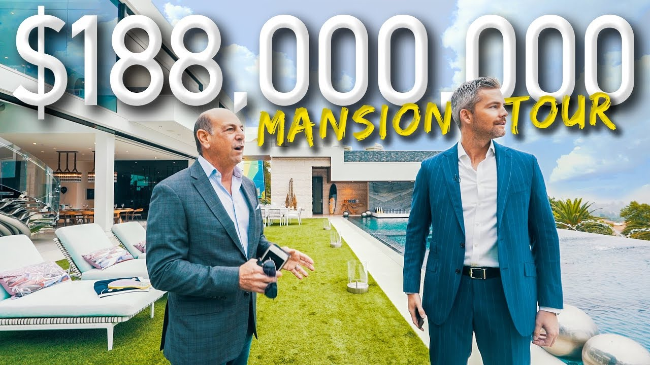 Download Touring A Massive $188 Million California Mega Mansion | Ryan Serhant Vlog #038