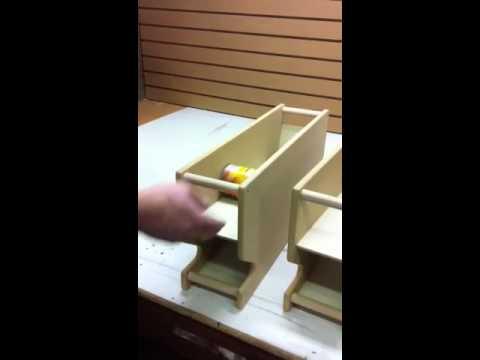 Can Rotation Rack Canracks Millercustomwoodworking Com