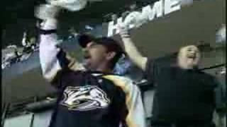 Nashville Predators - TV Timeout Standing Ovation 4-3-08