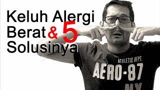 Tips Obati Alergi Debu Udara Cuaca Dingin Pilek Binatang Makanan Air Kulit Gluten Kosmetik Obat