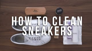How To Clean Sneakers | Common Projects