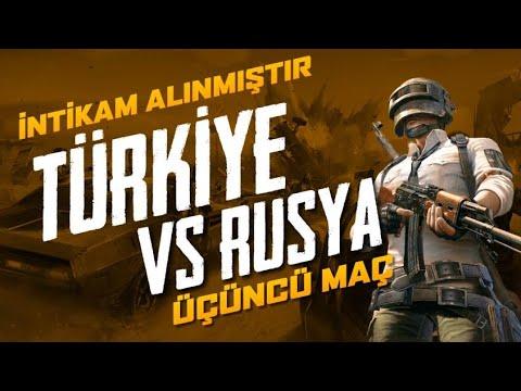 GLL NATIONS TÜRKİYE VS RUSYA 3.MAÇ -PUBG
