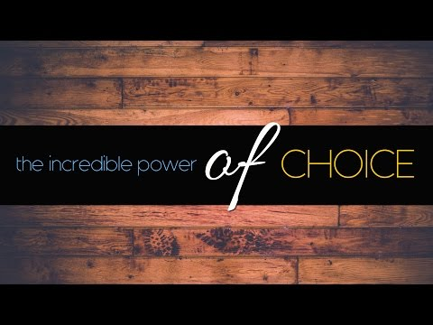 The Incredible Power of... | PT2 Choice | Pastor Jason Silver