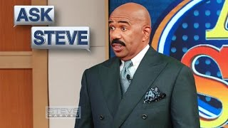 Ask Steve: You come from a Funky Family || STEVE HARVEY
