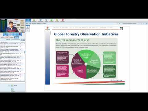 20 02 2017 Global Earth observation initiatives for carbon Forestry_Hitendra Padalia