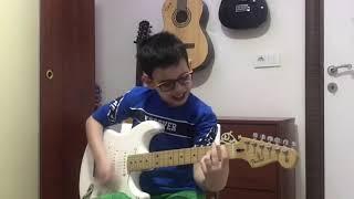 Duman - Seni Kendime Sakladım ( Elektro Gitar Cover ) Solo - Akor
