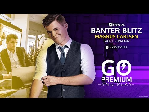 Banter Blitz with World Champion Magnus Carlsen (4)