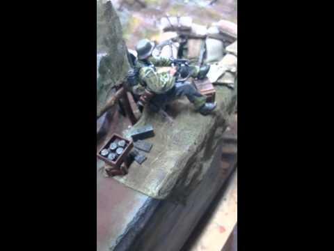 Bunker Diorama 1:16 (100 x 63 cm)